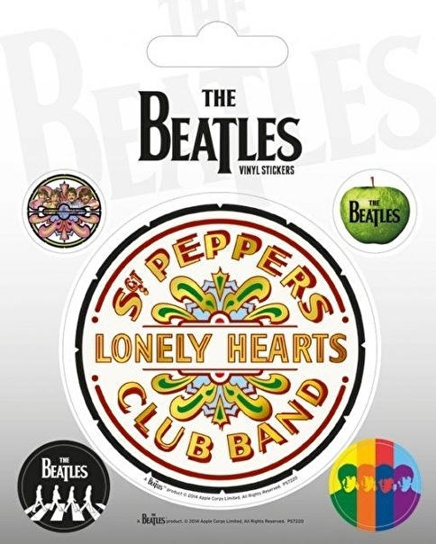 Pyramid International The Beatles (Sgt. Pepper) Etiket Renkli